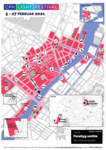 print selv kort til copenhagen light festival 2021