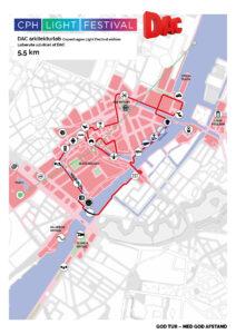 DAC arkitekturløb rute